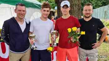 Tennisturnier in Uetersen: Rasmus Becker triumphiert beim Rosenpokal bei den U18-Jungen | shz.de - shz.de