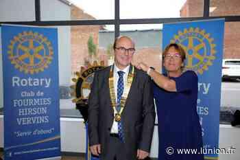 Un nouveau président au Rotary club de Fourmies-Hirson-Vervins - L'Union