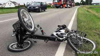 Unfall zwischen Riedlingen und Pflummern: Radfahrer wird von Kleinwagen erfasst und tödlich verletzt - SWP