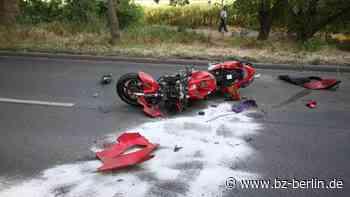 Update: tödlicher Motorrad-Unfall in Malchow - B.Z. Berlin