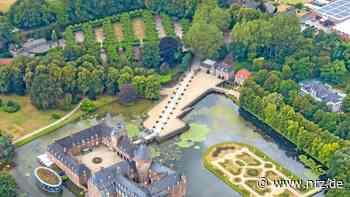 Isselburg: Driftmanöver zerstört neuen Vorplatz am Schloss - NRZ