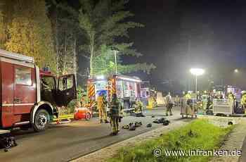 Marktredwitz: Gästehaus brennt in der Nacht - Großeinsatz der Feuerwehren - inFranken.de