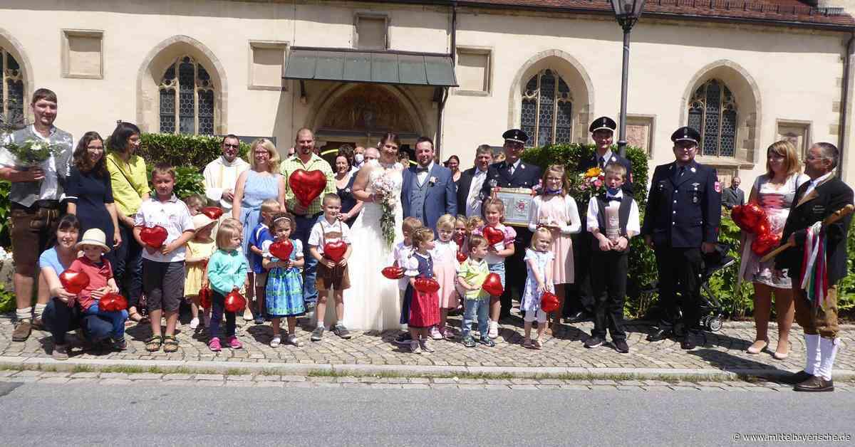 Katja und Michael trauten sich in Zandt - Region Cham - Nachrichten - Mittelbayerische