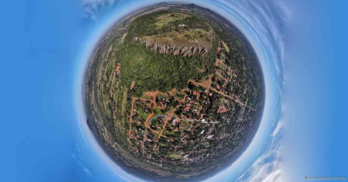 Cerro Yaguarón en el distrito de Paraguarí - La Nación