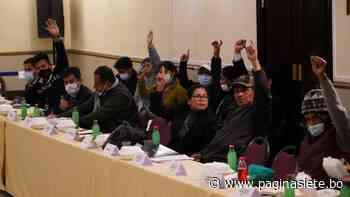 Lluta rechaza el acuerdo con el Gobierno por falta de «equidad» - Diario Pagina Siete