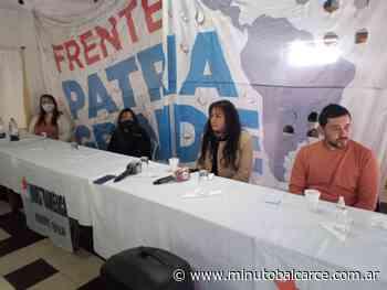El Frente Patria Grande lanzó su candidatura de cara a las PASO - www.minutobalcarce.com.ar