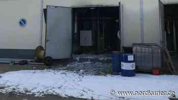 Fahrlässige Brandstiftung: Ursache für Brand im Heizwerk Teterow steht fest | Nordkurier.de - Nordkurier