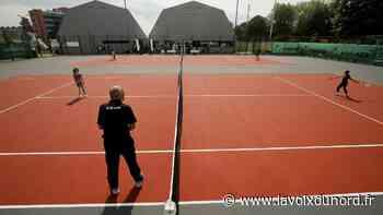 Un nouveau souffle pour l'US Maubeuge tennis et ses courts refaits ? - La Voix du Nord