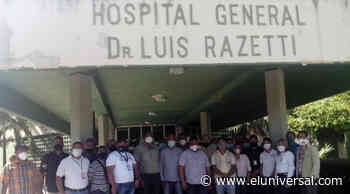 Paro de trabajadores en el Hospital Luis Razetti de Barinas - El Universal (Venezuela)