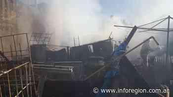Un incendio arrasó una vivienda en Monte Grande - InfoRegión