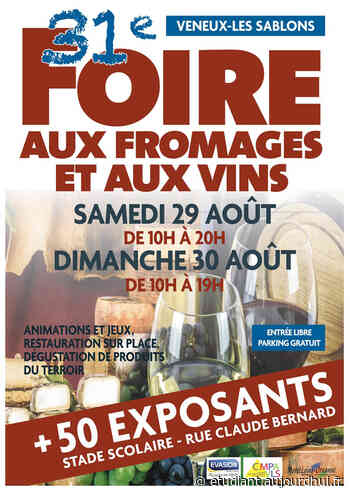 Foire aux Fromages et aux Vins - Stade scolaire, Veneux-Les Sablons, 77250 - Sortir à France - Le Parisien Etudiant - Le Parisien Etudiant