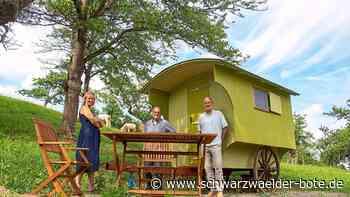 Wildberg - Zwei weitere Schäferwagen warten auf Gäste - Schwarzwälder Bote