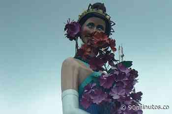¿Qué pasó con la estatua de Jovita Feijóo? fue pintada de negro - 90 Minutos