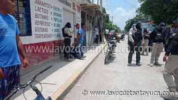 05/07/2021 Dos lesionados en fiera riña, en Pánuco - La Voz De Tantoyuca