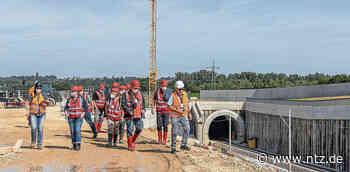 Lesertour zum Albvorlandtunnel bei Wendlingen - Einen Blick in die Tunnel geworfen- NÜRTINGER ZEITUNG - Nürtinger Zeitung