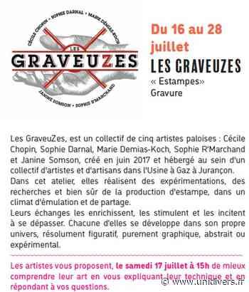 Exposition Les Graveuzes Oloron-Sainte-Marie vendredi 16 juillet 2021 - Unidivers