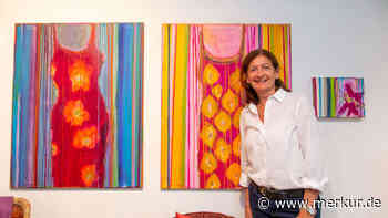 """Kreativ war ich schon immer"": Malerin Rosemarie Hingerl aus Poing - Merkur Online"