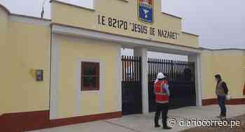 La Libertad: Obra en colegio no está concluida, pero comuna de Chepén le da conformidad - Diario Correo