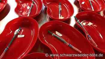 150 Termine übrig in Starzach - Etliche Impfdosen müssen jetzt weggeworfen werden - Schwarzwälder Bote
