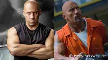 """Fast & Furious 9: Vin Diesel erklärt """"Fehde"""" mit The Rock - """"Tough Love & viel Arbeit nötig"""" - NETZWELT"""