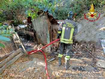 MONTE SAN VITO / Capanno agricolo in fiamme vicino alle mura - QDM Notizie
