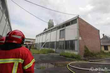 Hermes : 20 pompiers mobilisés sur un incendie dans un entrepôt de 400 m² - actu.fr