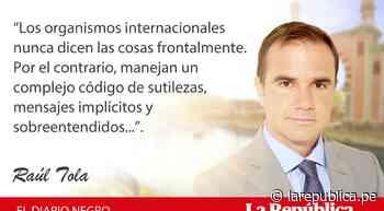 El portazo de la OEA, por Raúl Tola - LaRepública.pe