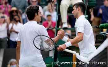 Novak Djokovic: Man konnte sehen, dass Cristian Garin nervös war - Tennis World DE