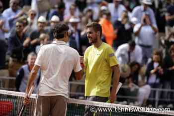 Oscar Otte: 'Roger Federer hat im Gegensatz zu Novak Djokovic ein tadelloses Image' - Tennis World DE