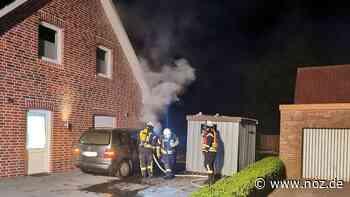 Personen bleiben unverletzt: Feuerwehren müssen zum Fahrzeugbrand in Geeste ausrücken - noz.de - Neue Osnabrücker Zeitung