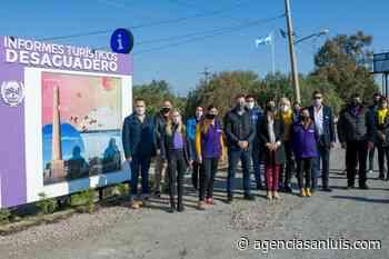 Abrió sus puertas la Oficina de Informes Turísticos de Desaguadero - Agencia de Noticias San Luis