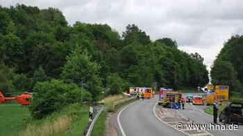 Motorradfahrer kommt bei Unfall auf der Landesstraße ums Leben - HNA.de