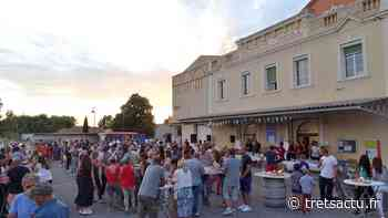 Trets : Très gros succès pour la seconde édition de la fête des terrasses au Cellier Lou Bassaquet - Trets au coeur de la Provence