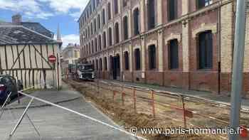 À Elbeuf, les traditionnels travaux d'été reprennent : les rues Michelet et Salvandy sont bloquées tout le mois de juillet - Paris-Normandie