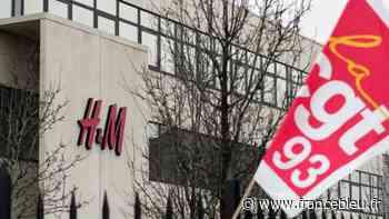 Le Bourget : une centaine de manifestants devant H&M contre la fermeture du site - France Bleu