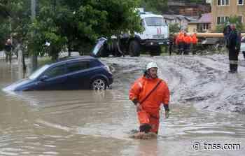 Sochi hit by flooding after torrential rainfall - TASS