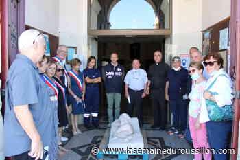 Port-Vendres : départ de la sculpture « Sogno di bambina » pour l'Italie - La Semaine du Roussillon