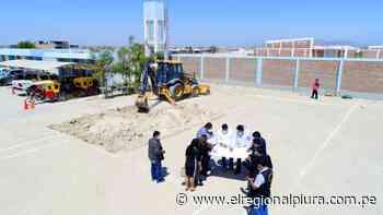 Municipalidad de Paita inicia construcción de planta de oxígeno medicinal - El Regional