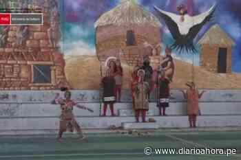 Escenifican el tradicional Kuntur Raymi en Juanjuí - DIARIO AHORA