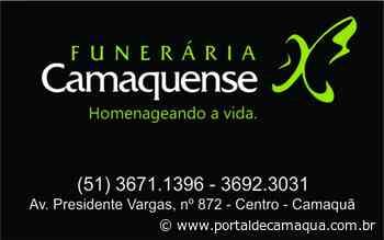 Nota de falecimento de Waldemar Laguna, mais conhecido como Vava, com 89 anos - Portal de Camaquã
