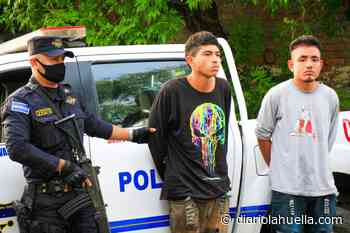 Capturan a dos delincuentes tras robo a mano armada en Apopa - Diario La Huella
