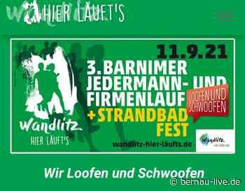 3. Barnimer Jedermann- und Firmenlauf in Wandlitz - Bernau LIVE