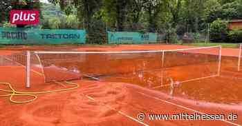 Tennisplatz in Braunfels verwüstet - Mittelhessen