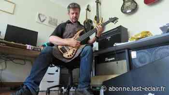 Le luthier aubois Antoine Franqueville-Roy lance sa marque de guitare - L'Est Eclair