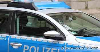 Betrunken und ohne Führerschein: 21-Jähriger in Dettenheim unterwegs - Baden TV News Online
