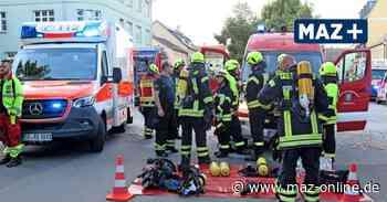 Luckenwalde: Ein Todesopfer bei Wohnhausbrand - Märkische Allgemeine Zeitung
