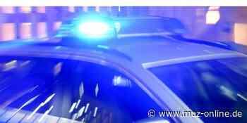 Luckenwalde: 35-Jähriger attackiert Streifenbeamte - Märkische Allgemeine Zeitung