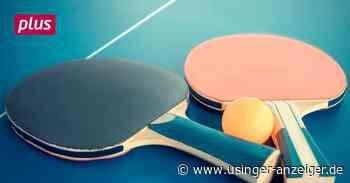 Tischtennis TSG Wehrheim: In der Krise hat es nicht gekriselt - Usinger Anzeiger