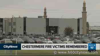 Hundreds attend funeral for Chestermere fire victims - 660 News