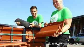 Lucie Holsten aus Stuhr lernt den Beruf der Dachdeckerin - WESER-KURIER - WESER-KURIER